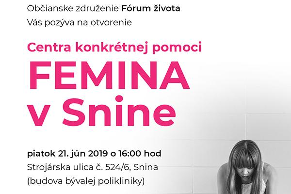 Femina Médiá Snina